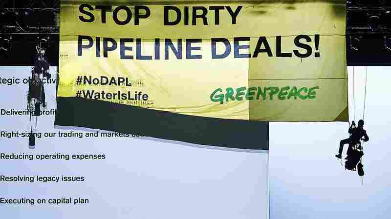 Dakota Access Pipeline Owner Sues Greenpeace For 'Criminal Activity'