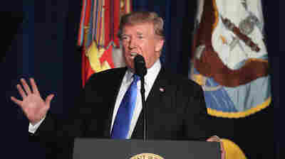 Combating His Instinct, Trump Commits U.S. To Another Tour Of Duty In Afghanistan