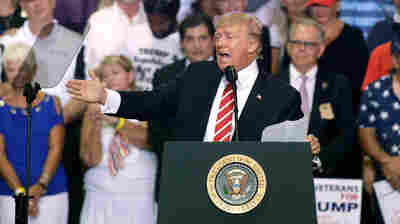 Trump Defends Charlottesville Comments At Phoenix Rally