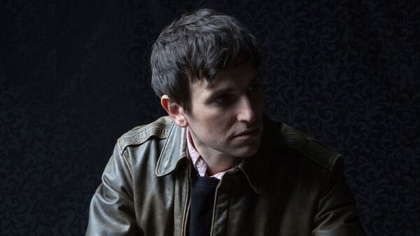 Kip Berman, frontman for The Pains Of Being Pure At Heart. The band