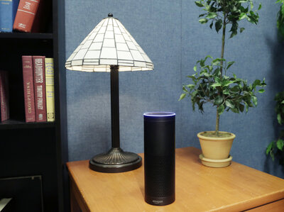 Amazon's Alexa-powered Echo currently dominates in voice-activated speakers. (Mark Lennihan/AP)