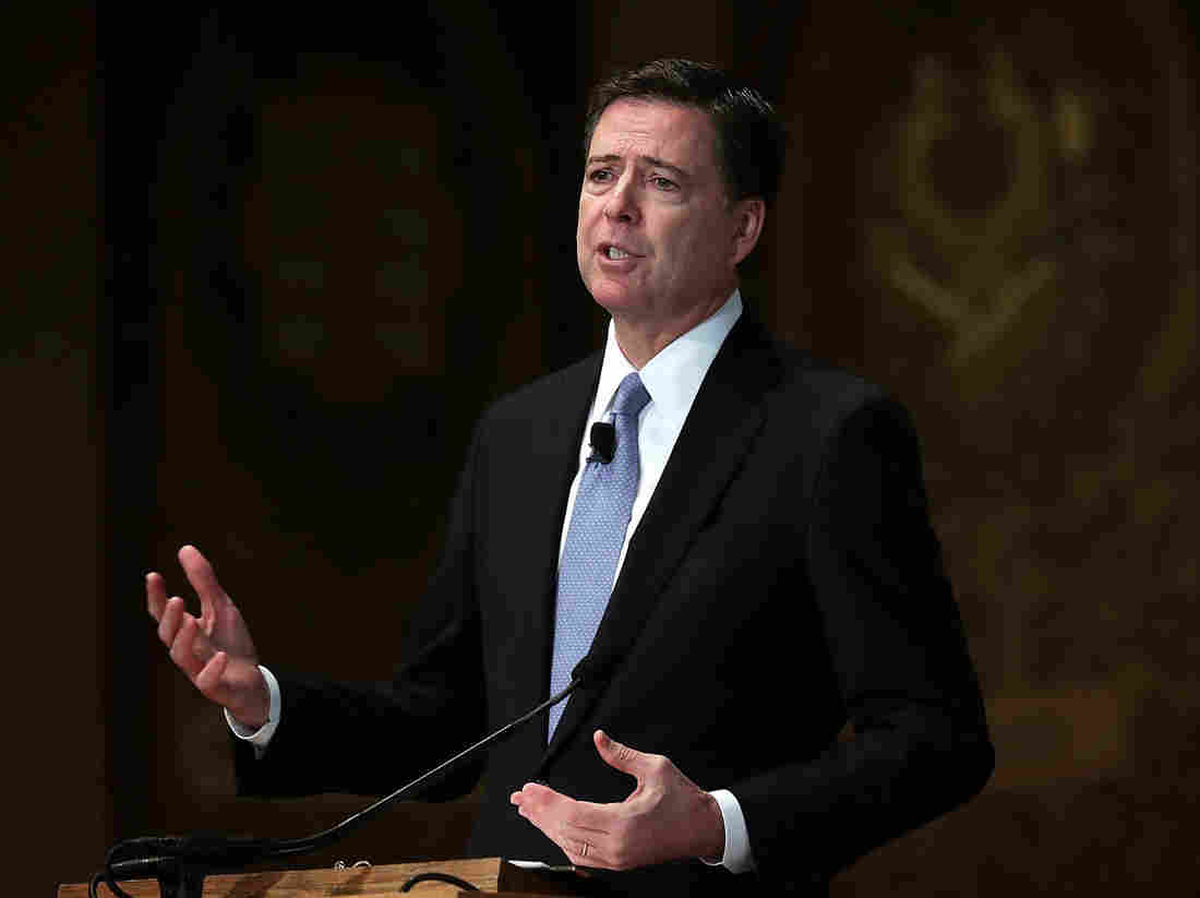 Howard University taps Comey as guest lecturer
