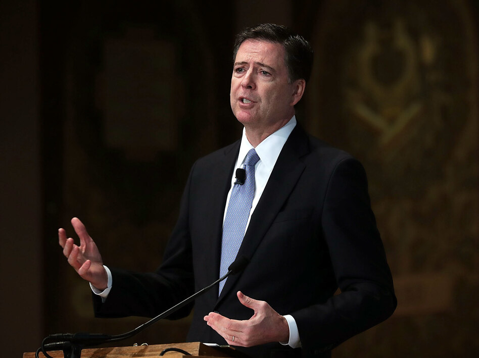 Former FBI Director Comey has tried to keep a low public profile since his surprise firing by President Trump in May. (Alex Wong/Getty Images)