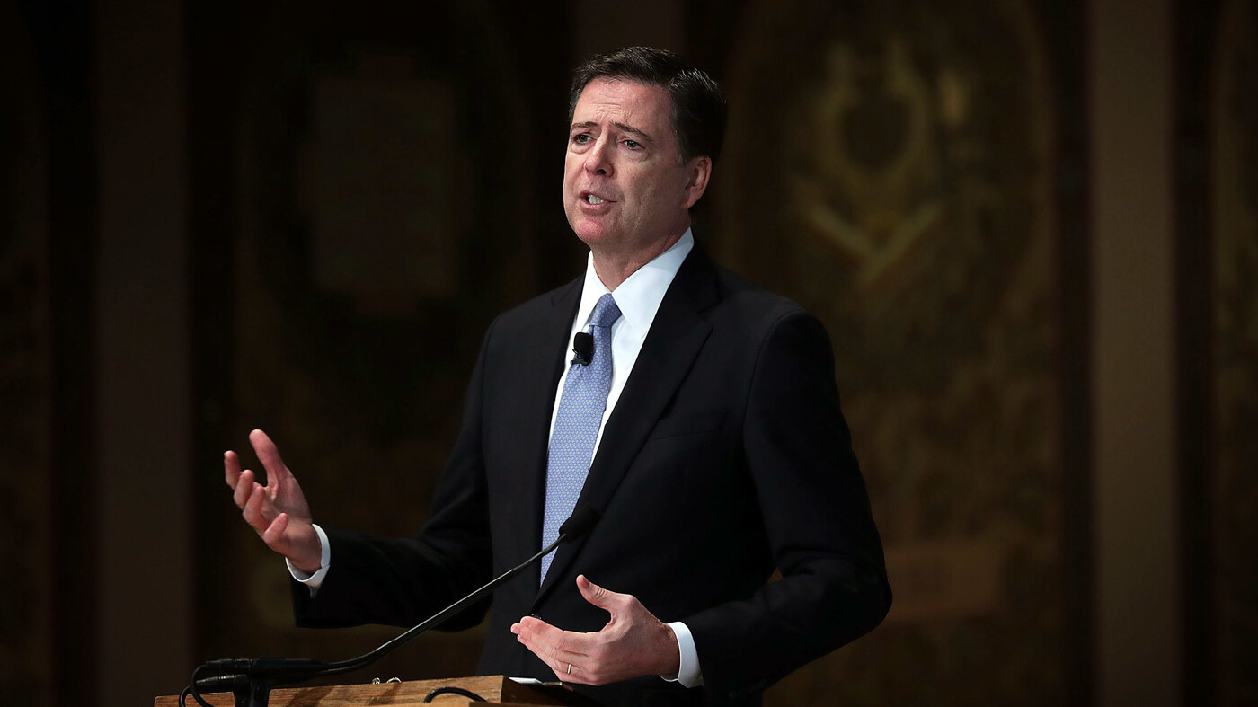 Former FBI Director Comey Joins Howard University For Lecture Series