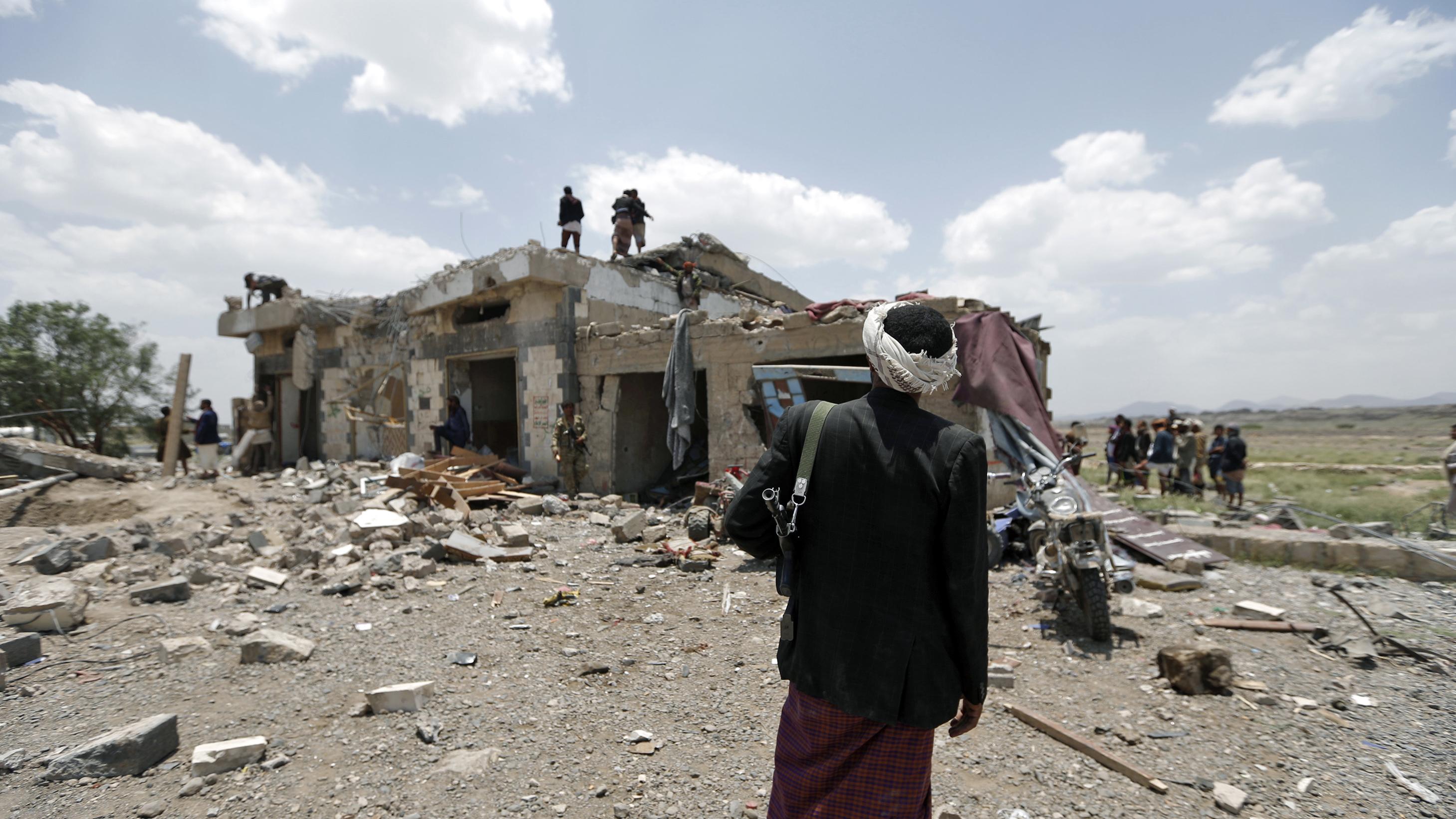 Children among 14 dead in new raid on Yemen