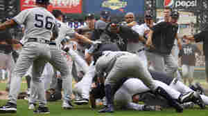 Benches Clear — Again And Again — During Brawls Between Yankees And Tigers
