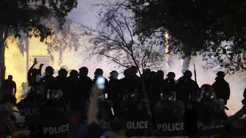 Police Struggle To Balance Public Safety With Free Speech During Protests