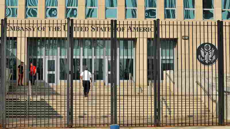 At Least 16 U.S. Embassy Staff In Cuba Treated After 'Health Attacks'