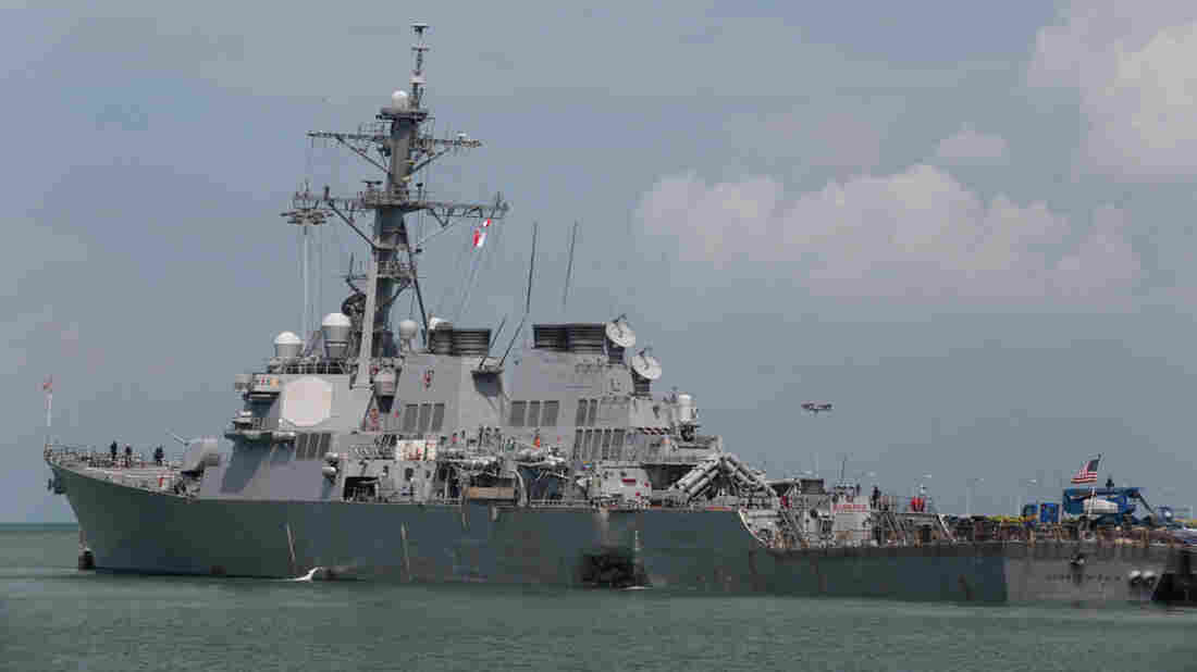 Search ongoing for missing sailors in Philippine Sea