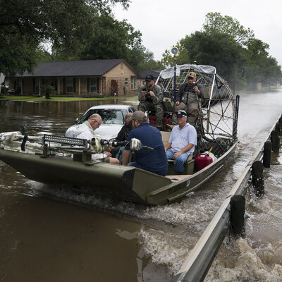 Already Flooded, Houston Braces As 2 Swollen Reservoirs Are Opened