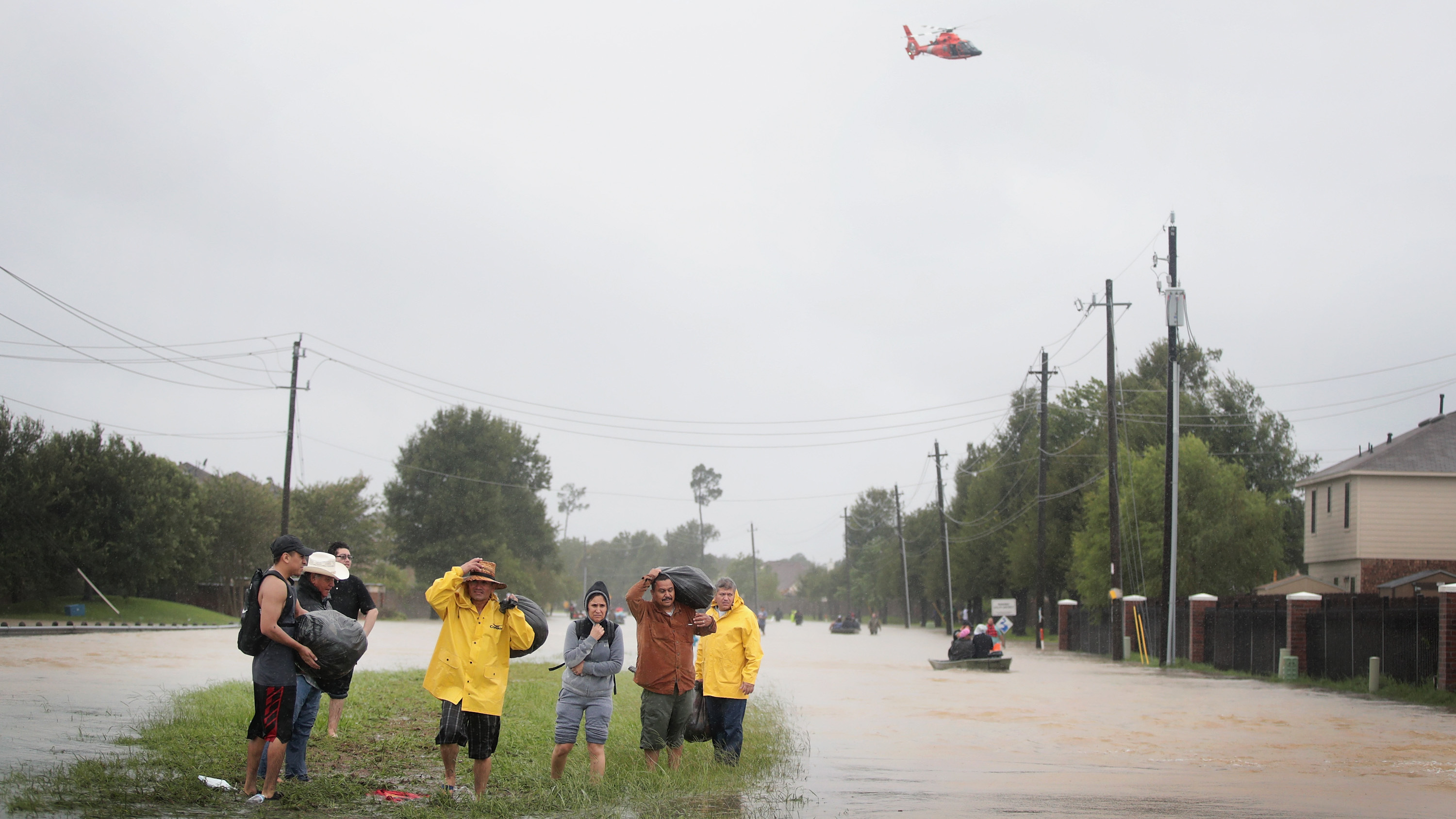 Louisiana braces for Harvey's rain as it marks Katrina's 12th anniversary