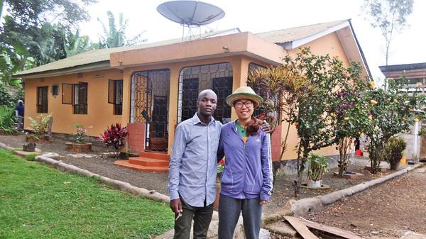 Godwin Ndosi rents out rooms at his parents