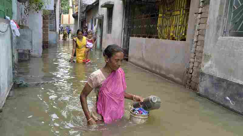 Floods In South Asia Have Killed More Than 1,000 People This Summer