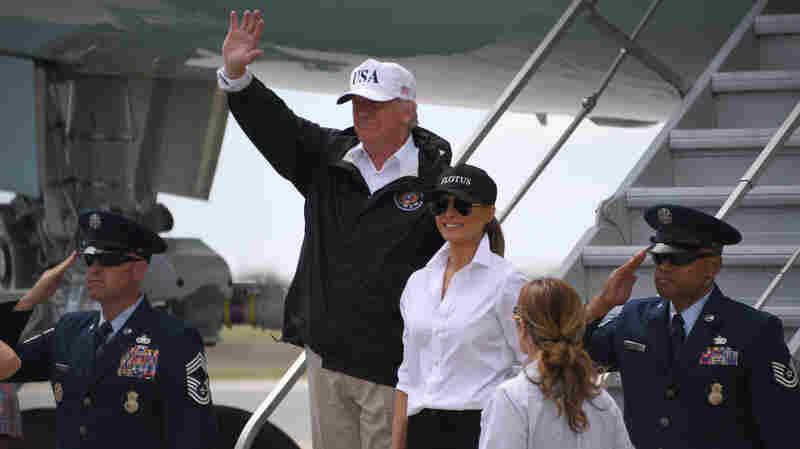 Trump's Texas Visit Highlights Federal Response Effort