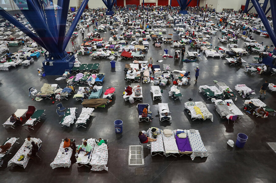 Health Issues Stack Up In Houston As Harvey Evacuees Seek Shelter