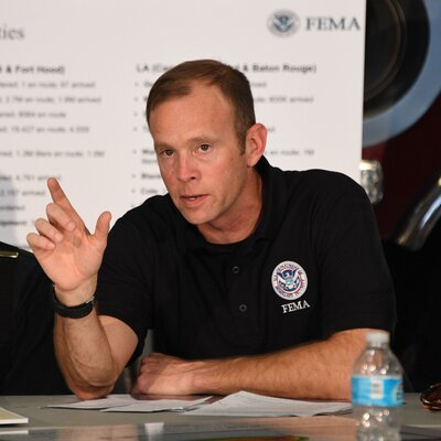 New, Respected FEMA Chief Faces First Major Challenge With Hurricane Harvey