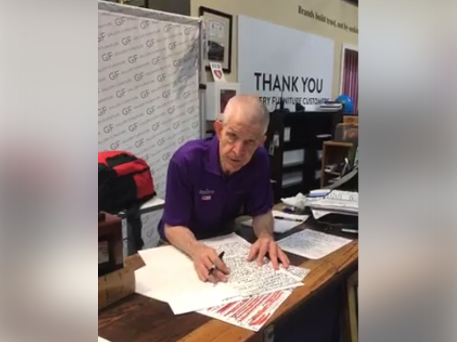 Furniture store owner turns businesses into shelters for hurricane evacuees