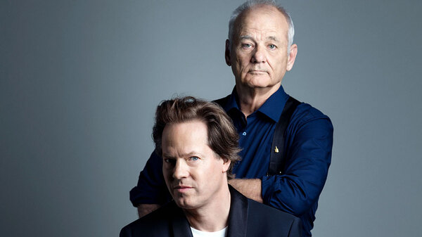 On the upcoming album New Worlds, actor and comedian Bill Murray teams up with cellist Jan Vogler and friends for music by Bernstein and Gershwin and poetry and prose by Whitman and Twain.