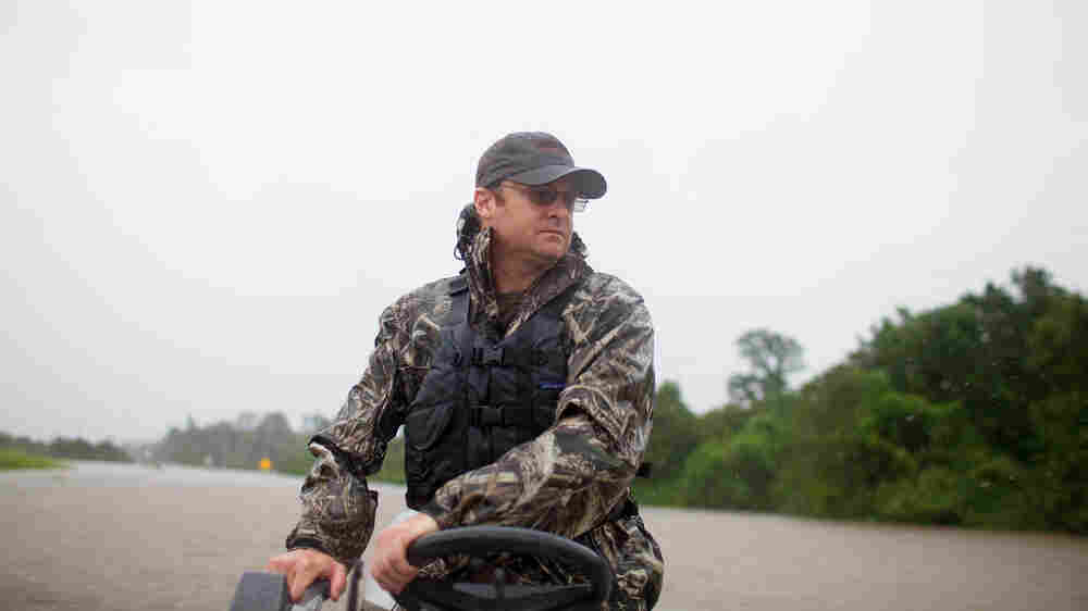 Riding With A Rescue Mission In The Surreal, Perilous Texas Floods