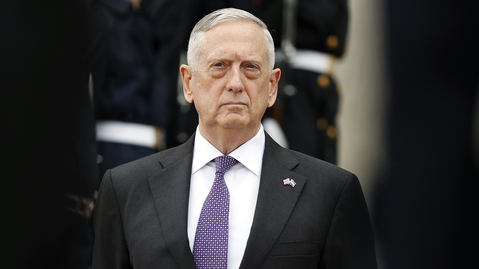 Defense Secretary Jim Mattis will maintain current policy on transgender service members, promising to convene a panel to study how to implement President Trump's ban on transgender troops. (Alex Brandon/AP)