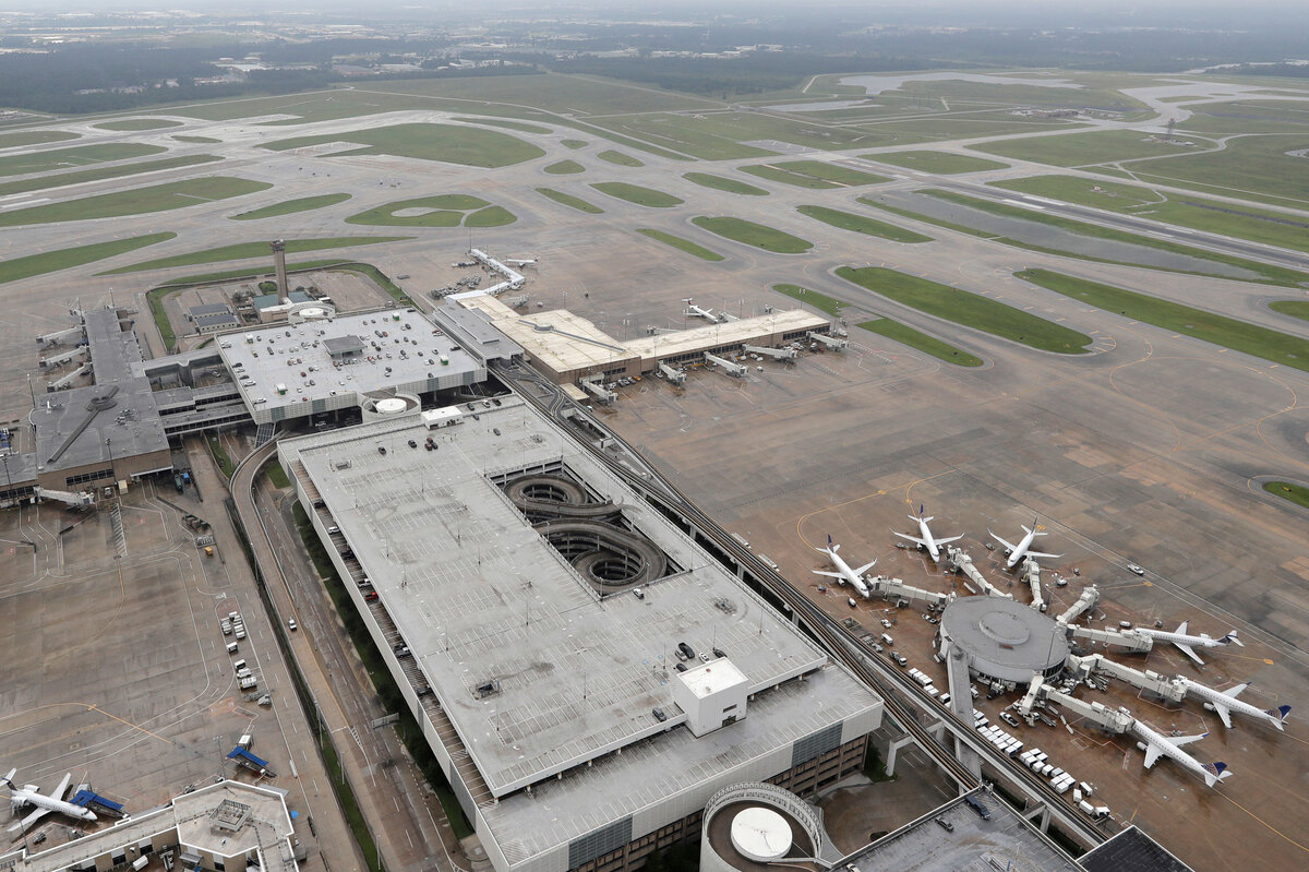 Houston Airports And Ports Begin Opening : NPR