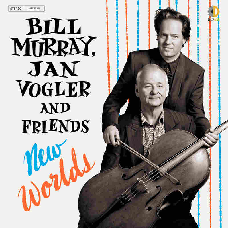 Cover of Bill Murray's new album, New Worlds.