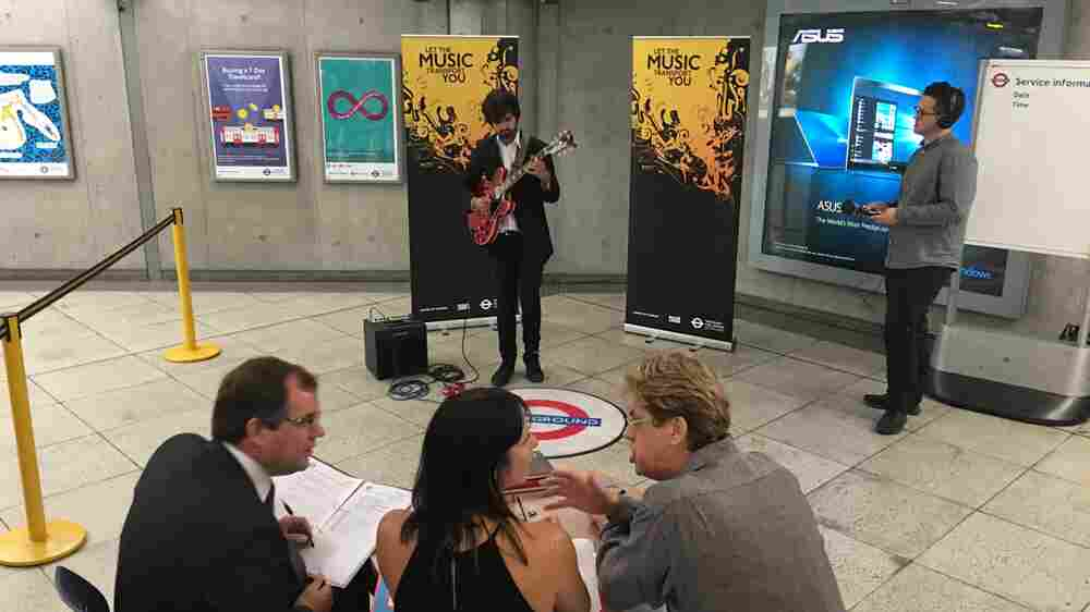 London Underground Calling: Buskers Audition To Play On The Tube