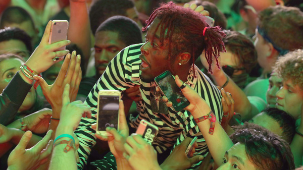Lil Uzi Vert, caught surfing the crowd at Coachella last April, released his album Luv Is Rage 2 last week.