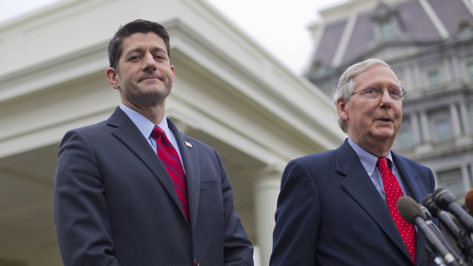 House Speaker Paul Ryan (left) and Senate Majority Leader Mitch McConnell will have a packed schedule when Congress returns this week. (Pablo Martinez Monsivais/AP)