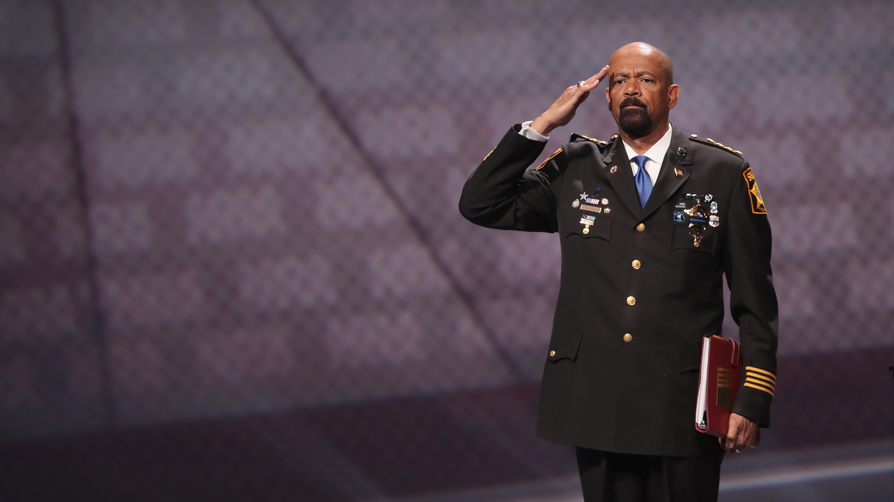 Clerk: Milwaukee sheriff and Trump supporter Clarke resigns