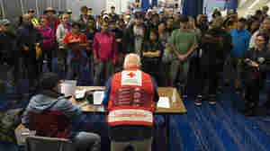 NPR Grills Red Cross Official Over Hurricane Harvey Donations