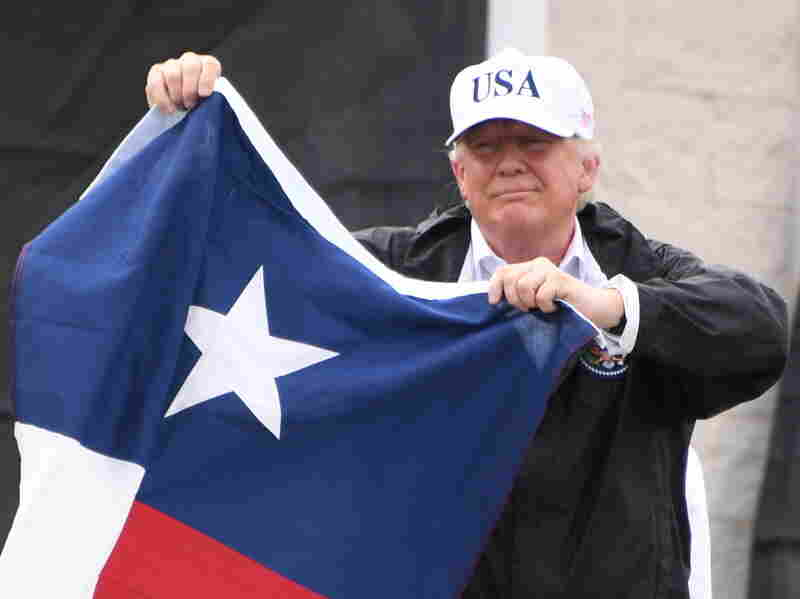 Trump to donate $1 million for Harvey flood relief operations: White House