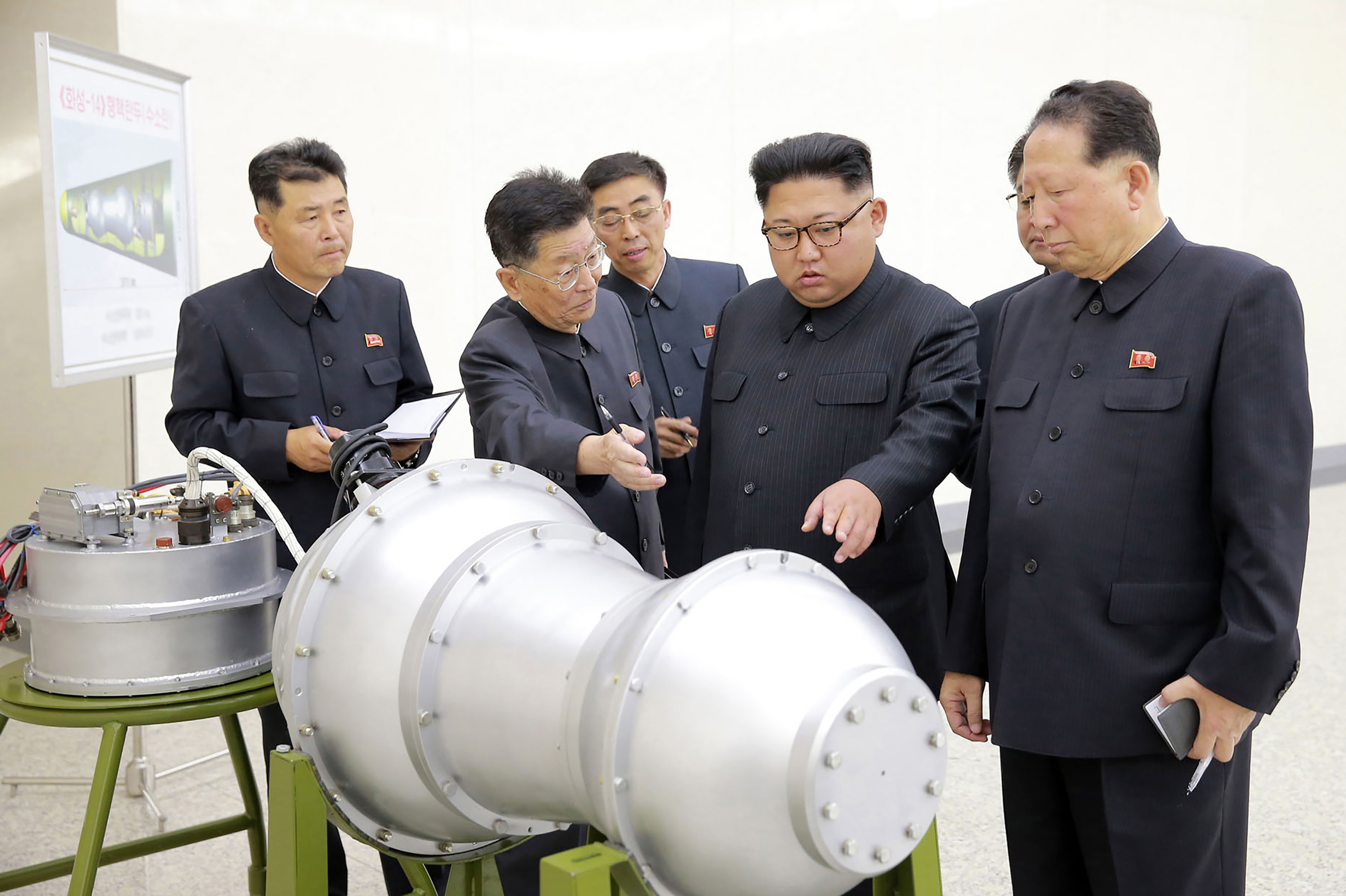 North Korea claims to have built advanced hydrogen bomb