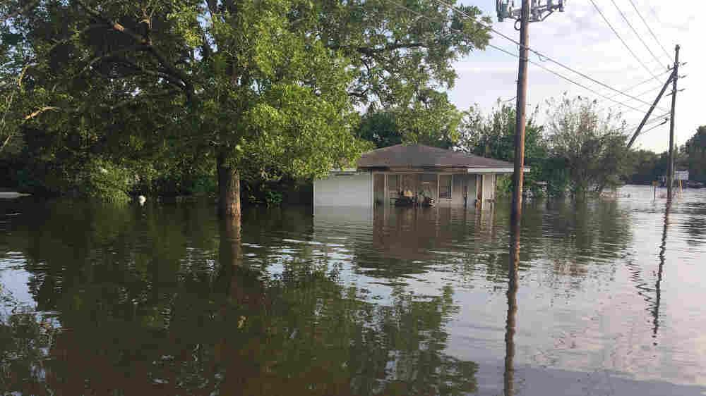 In Orange, Texas, Neighbors And Strangers Unite To Help Flood Victims