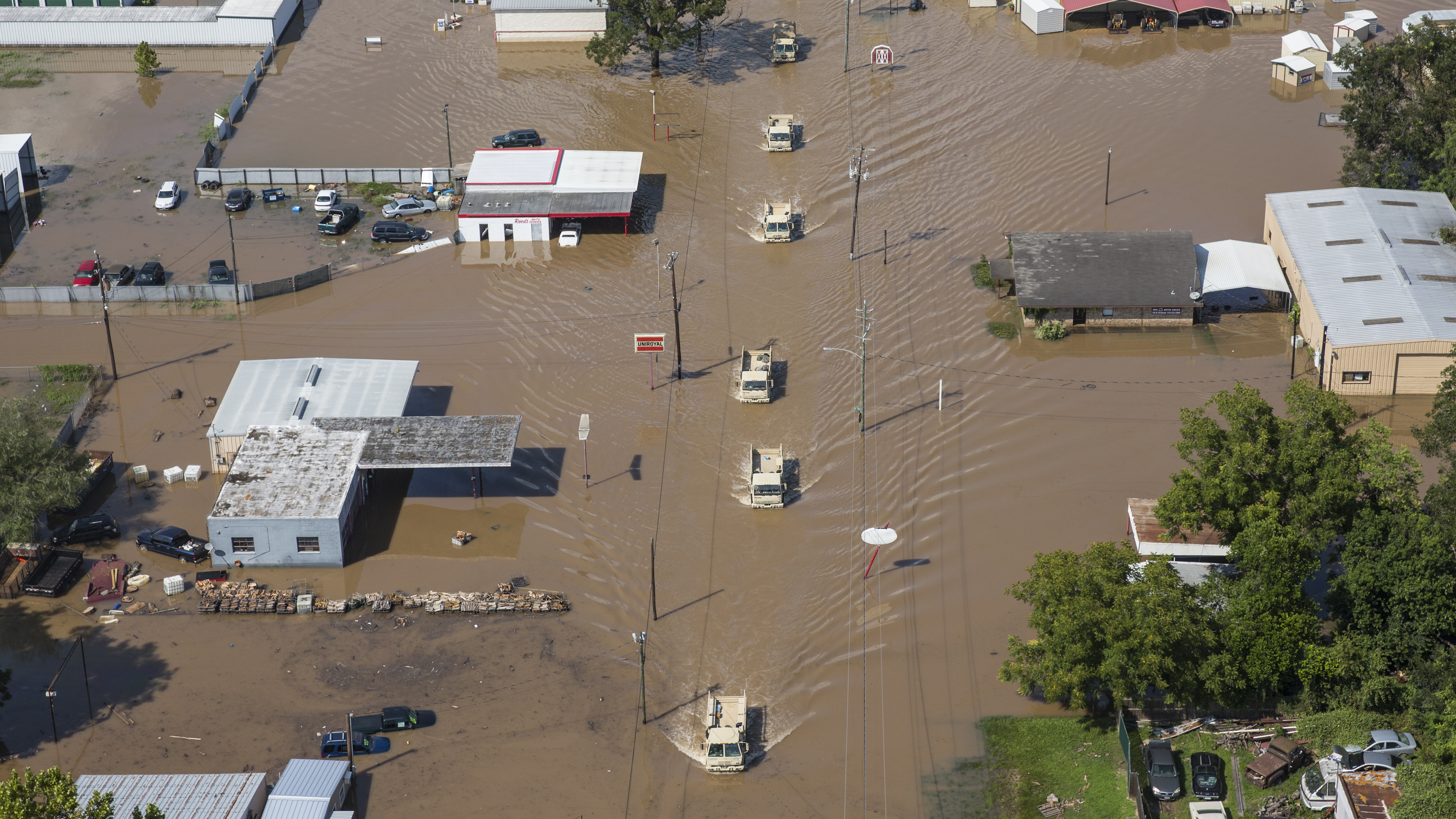 White House Requests An Initial $5.9 Billion to Fund Harvey Recovery