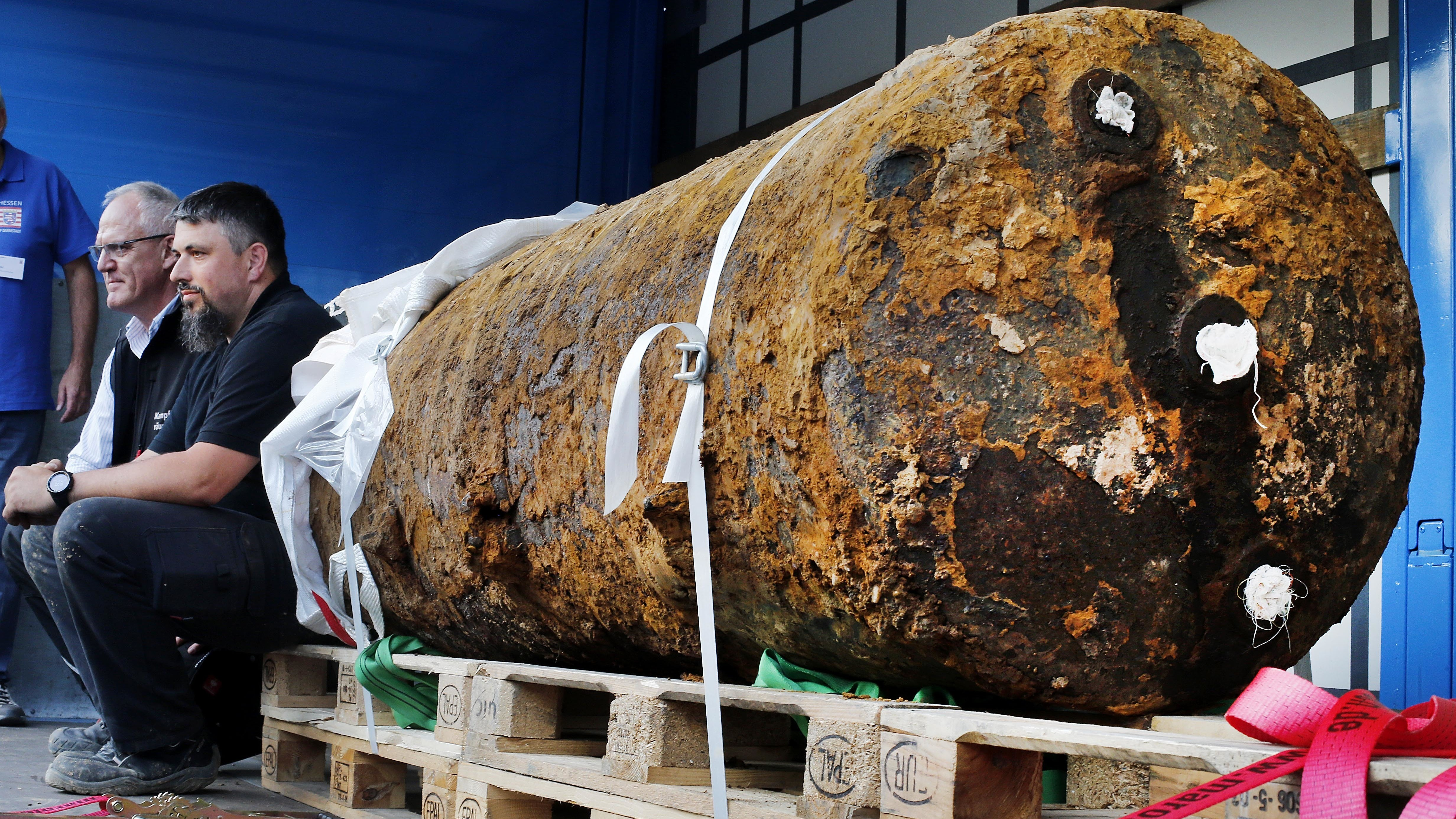 Bomb Successfully Defused Following 'Largest' Evacuation Of Post-World War II Germany