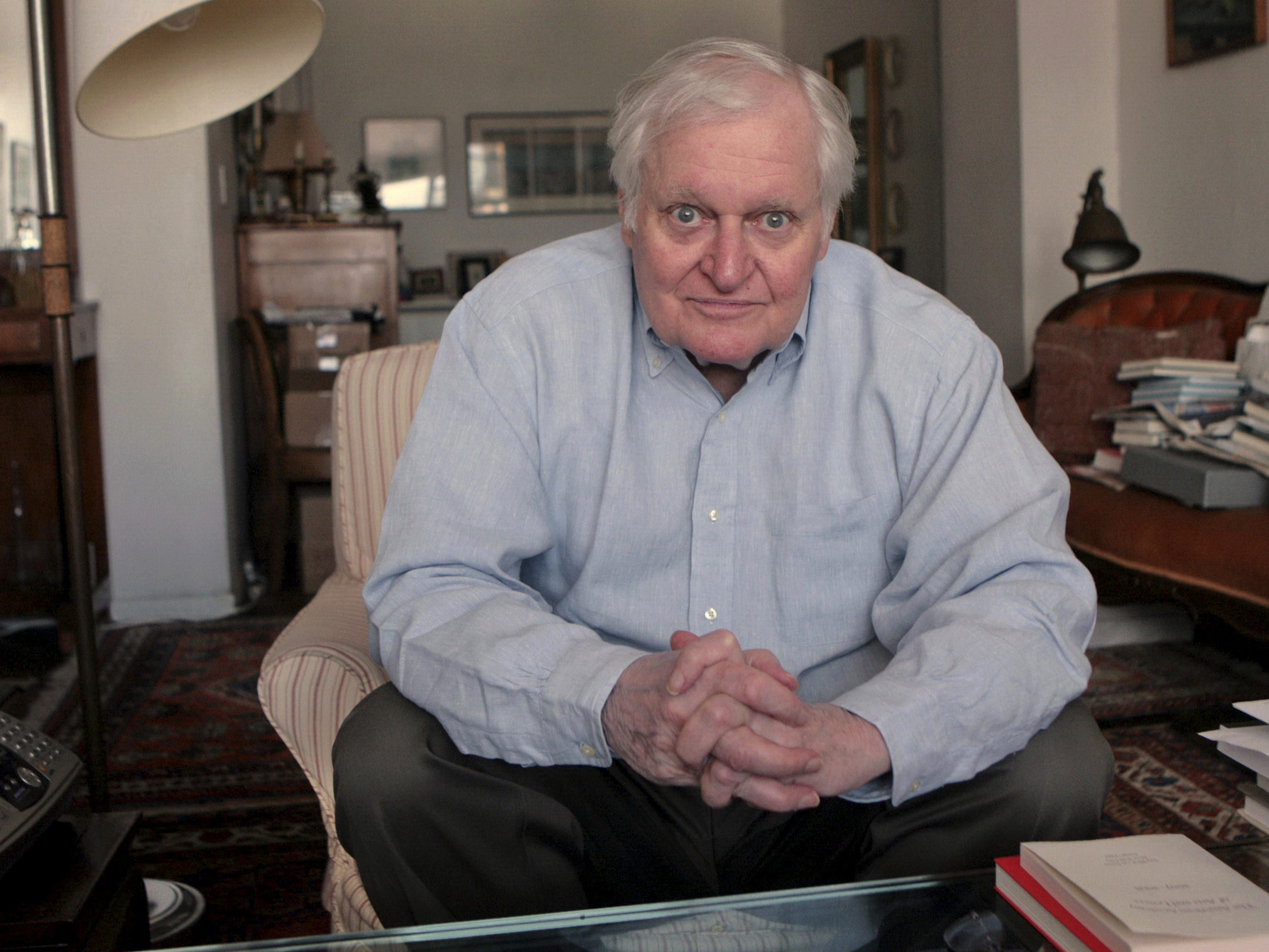 John Ashbery, celebrated and challenging poet, dies at 90