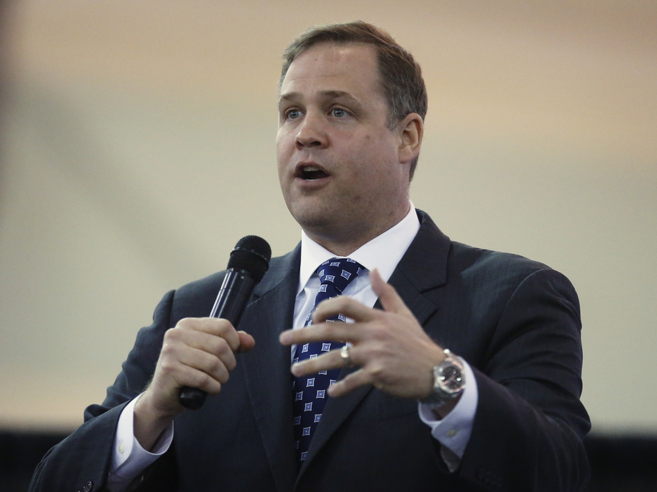 Rep. Jim Bridenstine, R-Okla., President Trump's choice to lead NASA, is former director of the Tulsa Air & Space Museum. (Sue Ogrocki/AP)
