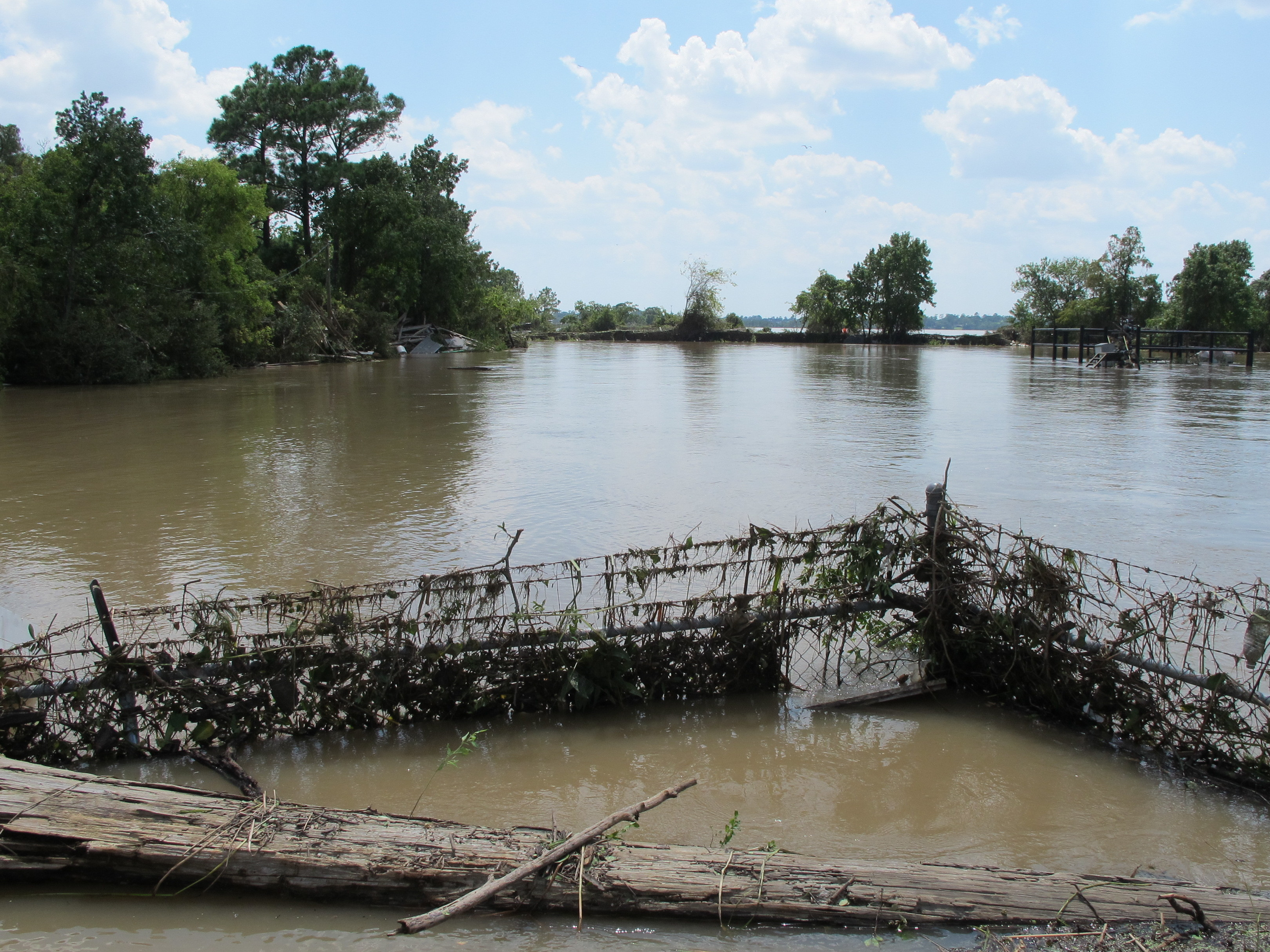 In Texas, Concerns About Damage To Flooded Toxic Waste Sites