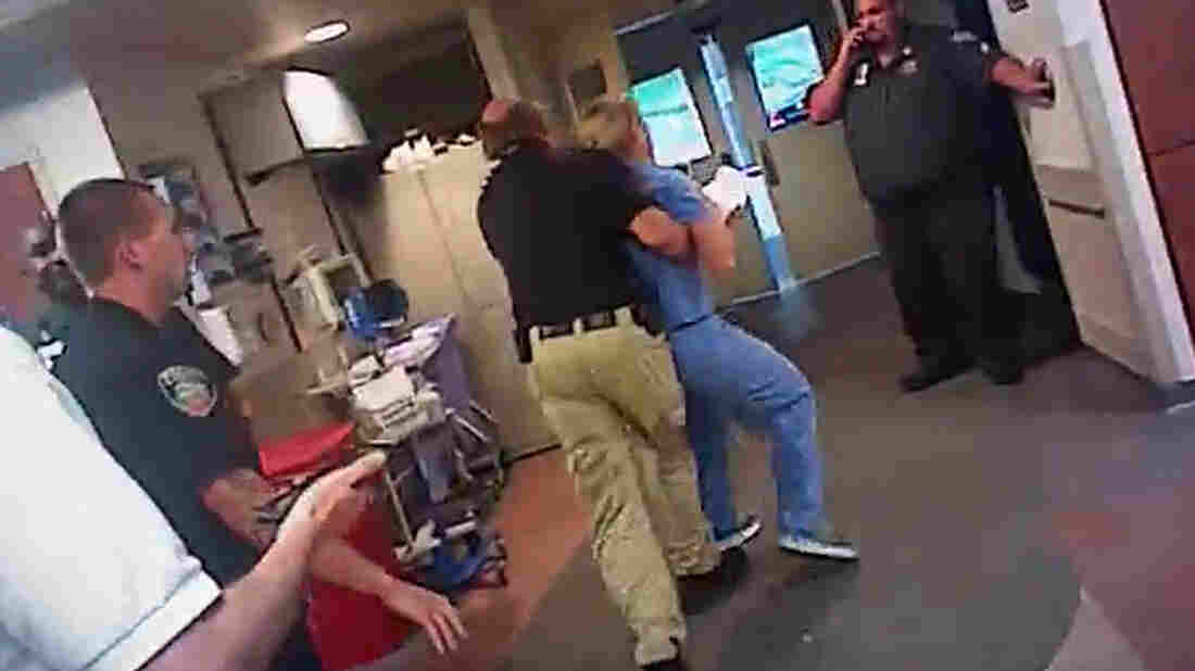 Salt Lake cop who arrested nurse wants to apologize