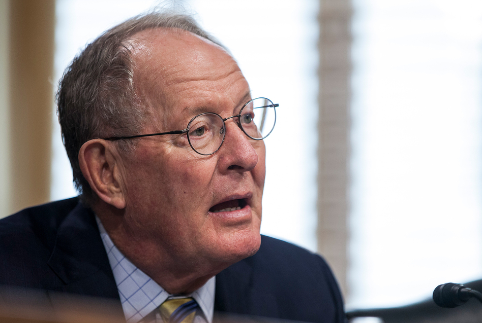 Sen. Lamar Alexander, R-Tenn., is working with Patty Murray, D-Wash., on a bill to stabilize the health insurance market. (Zach Gibson/Getty Images)