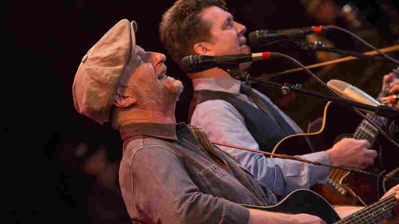 Billy Bragg And Joe Henry On Mountain Stage