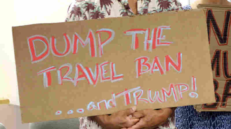 Appeals Court Rejects Family Limits In Trump Travel Ban