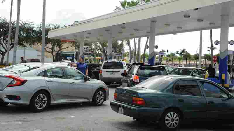 As Hurricane Irma Nears, Gasoline Is In Short Supply For Floridians