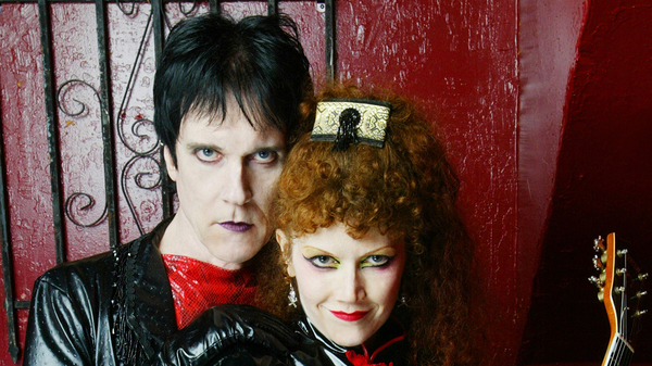 Lux Interior and Poison Ivy, founding members of The Cramps, whose music reignited the sound of 1950s and early 1960s rock