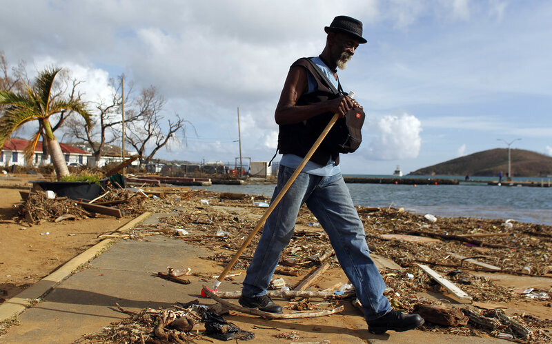 The Rubble And Recovery Of U.S. Virgin Islands: 'Will We Survive The  Aftermath?'
