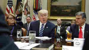 Trump Dinner Menu: Tax Cuts