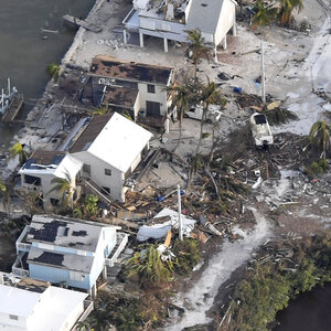 After Heavy Damage Florida Keys Residents Anxiously Wait To Return Home