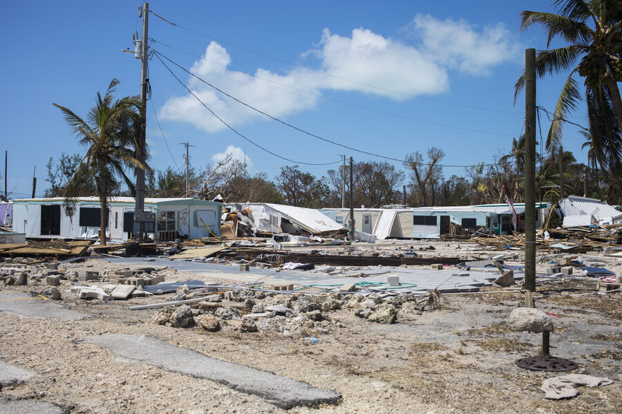 Looks Like A Bomb Went Off Returning To Mobile Home Park Leveled By Irma