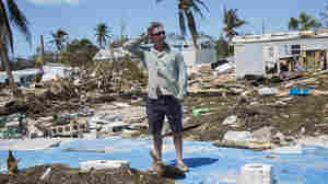 'Looks Like A Bomb Went Off': Returning To A Mobile Home Park Leveled By Irma
